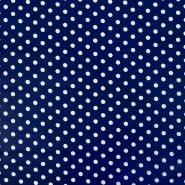 Bombaž, impregniran, pike, 17052-005, modra