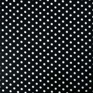 Bombaž, impregniran, pike, 17052-069, črna