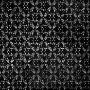 Spitze, dicht, 17054-069, schwarz