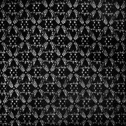 Čipka, gosta, 17054-069, črna