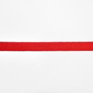 Trak, keper, bombaž, 20mm, 15836-6230, rdeča