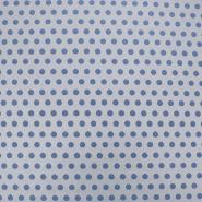 Jacquard, Punkte, 5735-3, blau