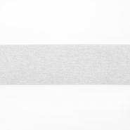 Elastikband, 50 mm, Glitter, 17136-42589, sahne