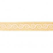 Band, Jacquard, dekorativ, 17137-42630, golden