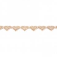 Trak, srčki, 17141-42667, zlata