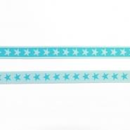 Elastikband, 20 mm, Sterne, 17143-42806, mintgrün