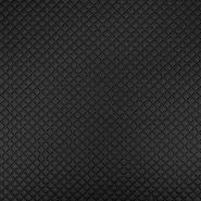 Umetno usnje, oblačilno, kare, 17158-169, črna