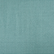 Deco jacquard, diamonds and flowers, 5286, blue