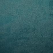 Semiš, brušeno pletivo, 17156-006, petrol