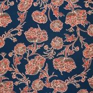 Tkanina, tanjša, cvetlični, 16934-21