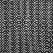 Čipka, elastična, 17172-069, črna