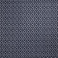 Čipka, elastična, 17172-008, temno modra