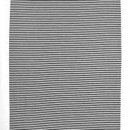 Bündchen, Streifen, 17184-069, schwarzweiß