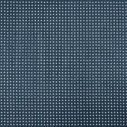 Semiš brušeno pletivo, 17155-007, modra