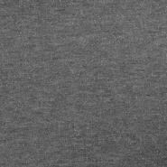 Sweatshirtstoff, flauschig, 17231-001, grau