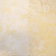 Deko saten, praznični, 17217-01, zlata