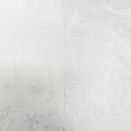 Deko žakard, praznični, 17218-03, srebrna