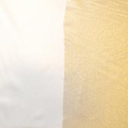 Deko saten, praznični, 17219-01, zlata