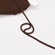 Vrvica, bombažna, 4mm, 16189-30362, rjava - Svet metraže
