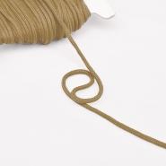 Vrvica, bombažna, 4mm, 16189-30361, bež - Svet metraže