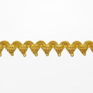 Trak, dekorativni, 17027-10669, zlata