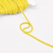 Vrvica, bombažna, 4mm, 16189-30358, rumena