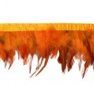 Perje na traku, 16184-43334, oranžna