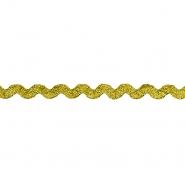 Trak, okrasni, cik cak, 17272-41168, zlata