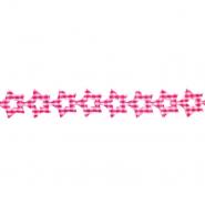 Trak, okrasni, zvezde, 17266-43163, fuksija