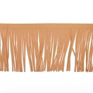 Fransen, Wildleder, 12 cm, 17275-28005, sandig