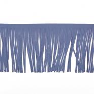 Fransen, Wildleder, 12 cm, 17275-50008, blau