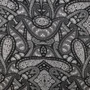 Pletivo, ornamentni, 17292-069, sivo črna