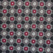 Pletivo, poliester, cvetlični, 17304-016, rdeča