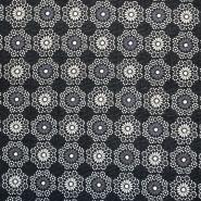 Pletivo, poliester, cvjetni, 17304-069