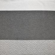 Pletivo, geometrijski, 17328-021, siva