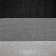 Pletivo, geometrijski, 17328-981, crno-siva