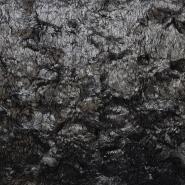 Krzno, umetno, dolgodlako, 17335-999, črna