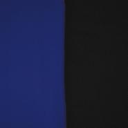 Velur, dvobojan, 17350-29, plava-crna