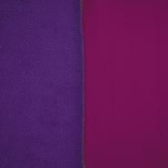 Velur, dvobarvni, 17350-39, vijola-fuksija