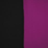 Velur, dvobojan, 17350-50, crna-fuksija