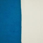 Velur, dvobarvni, 17350-52, smetana-turkiz