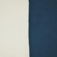 Velours, zweifarbig, 17350-55, sahne-grau