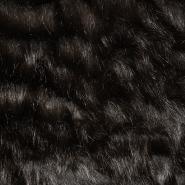 Krzno, umetno, kratkodlako, 17289-1, rjava