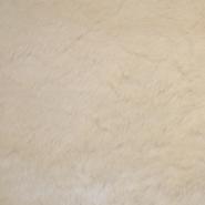 Krzno, umetno, kratkodlako, 17289-22, smetana