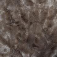 Krzno, umetno, 17289-61, rjava