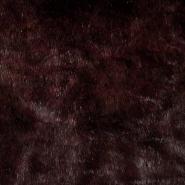 Krzno, umetno, kratkodlako, 17289-68, rjavo rdeča