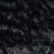 Krzno, umetno, 17289-75, črno modra