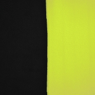 Velur, dvobojan, 17350-14, crna-limun žuta