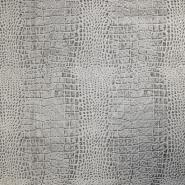 Umetno usnje, oblačilno, živalski, 17374-0801, siva
