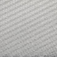 Žakard, kostimski, 17381-0200, belo srebrna